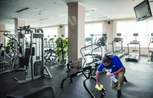 JAN-PRO gym cleaning service