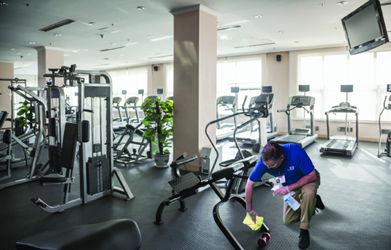 janpro gym cleaning service